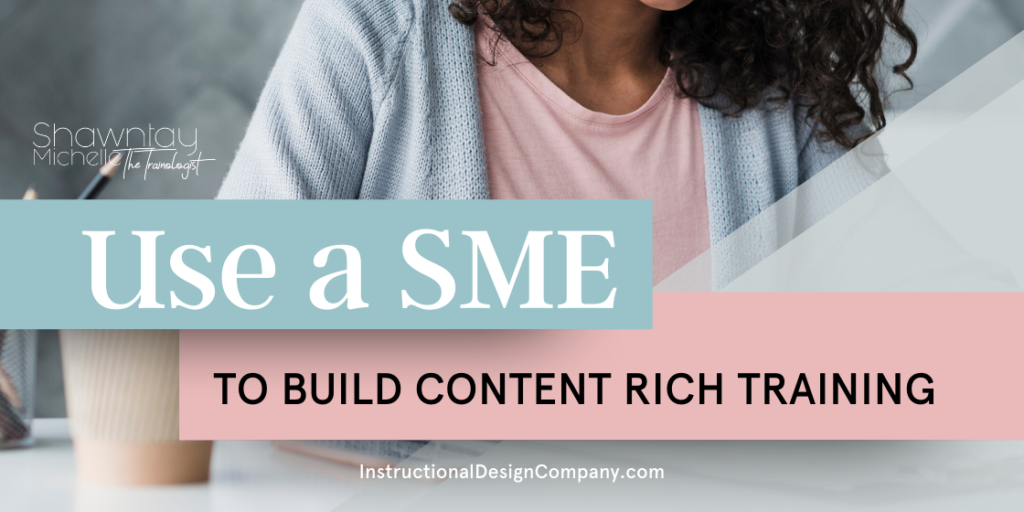content rich training