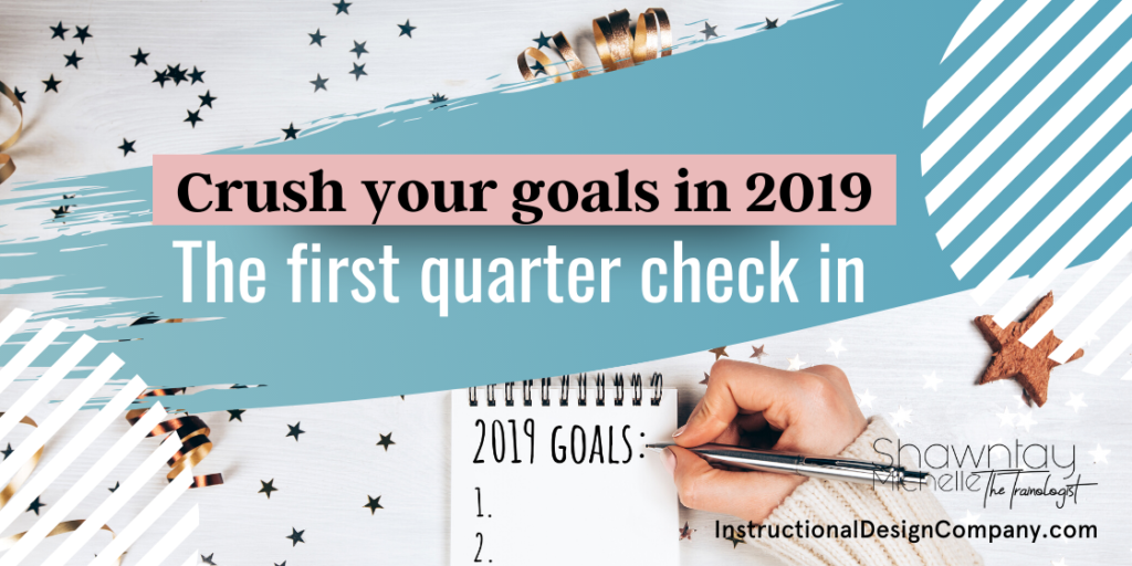 crush your 2019 goals