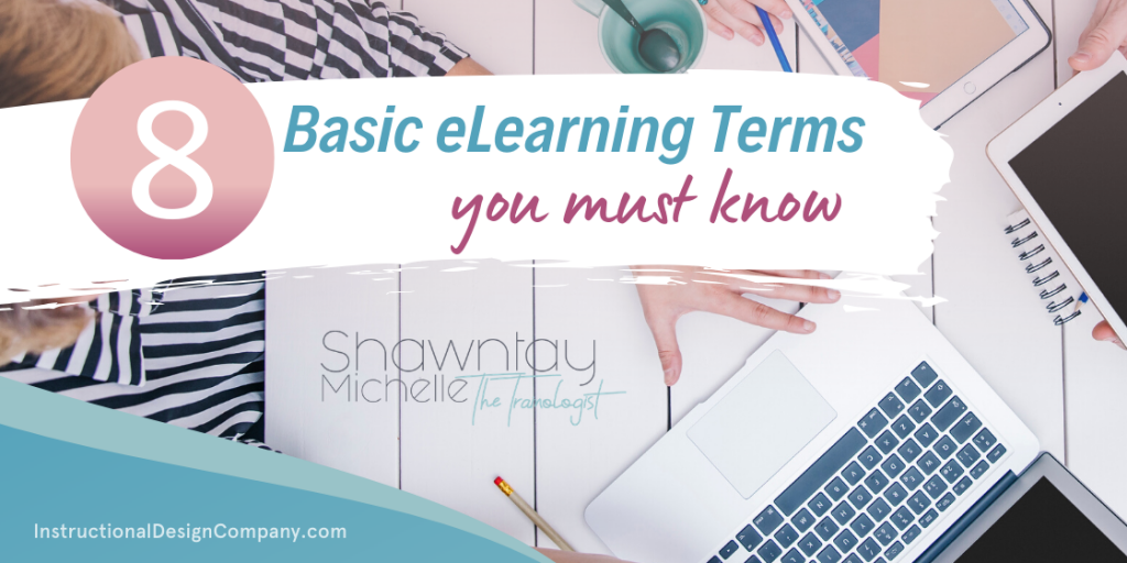 basic elearning terms