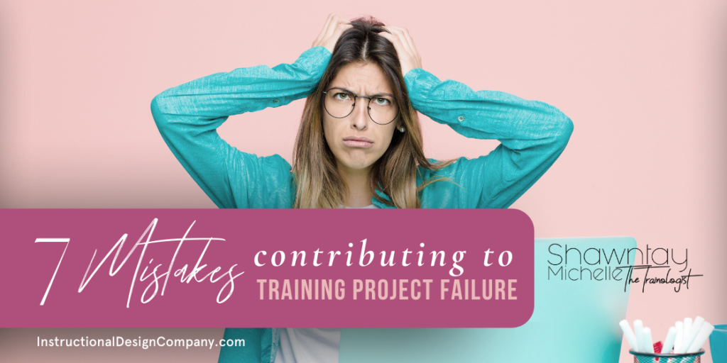 training project failure