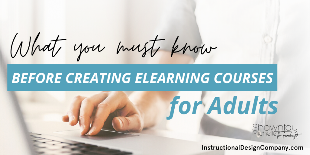 eLearning courses for adults