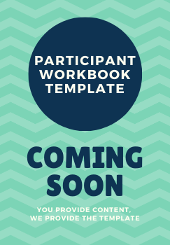 Participant Workbook Template