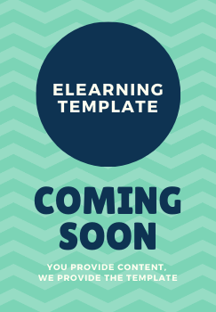 eLearning Course Template