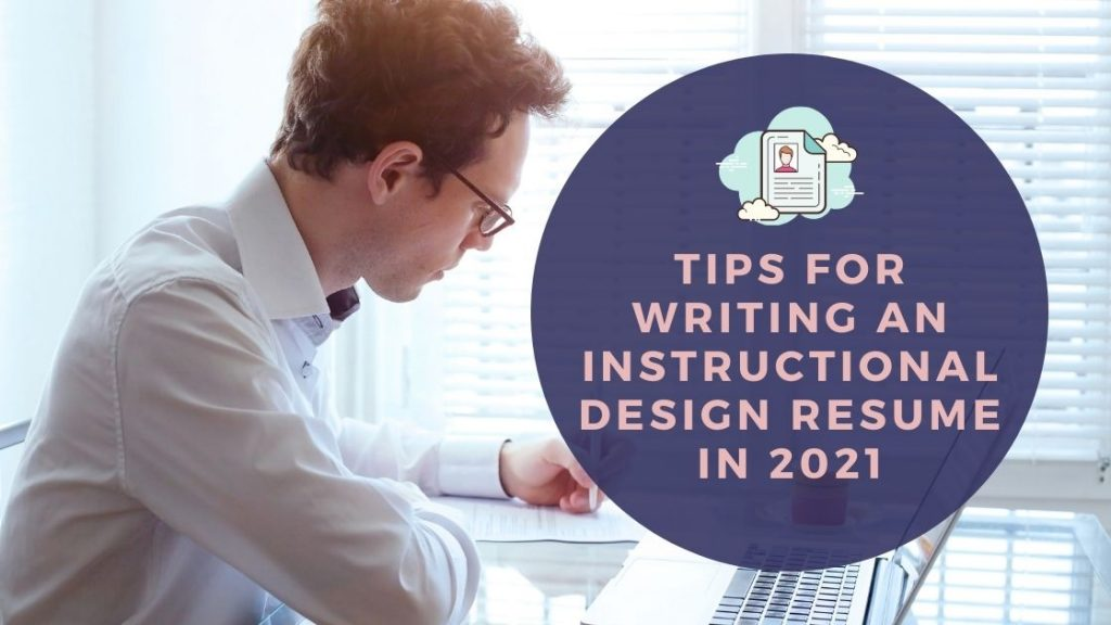 Tips for Writing an Instructional Design Resume - Header
